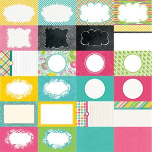 Picture of Party Brights by Katie Pertiet Designer Journal Cards - Set 25
